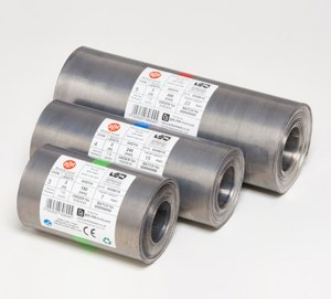 LEAD Flashing Code 4 BLUE 240mm Wide 1M ROLL 5k