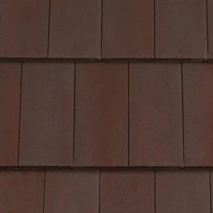 REDLAND MockBond Richmond 10 Slate, 40 Rustic Brown (Coated), Smooth Finish, Concrete