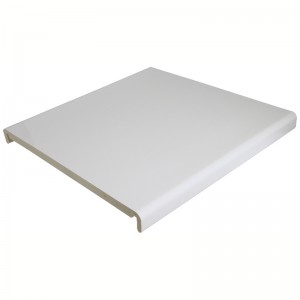 FLOPLAST Mammoth Box End Board - 404mm - Various Woodgrain Foil Colours/White