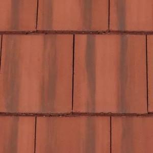 REDLAND Mini Stonewold, 39 Farmhouse Red, Smooth Finish, Concrete