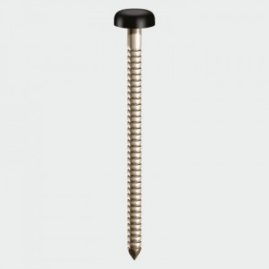 TIMCO Nails - PP40O 40mm Polymer Head Pin- OAK -250Pk   TIMPP40O