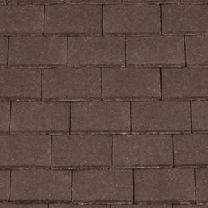 REDLAND Plain Roofing Tile, 02 Brown (Granular), Sanded / Granular, Concrete