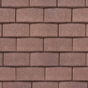 REDLAND Plain Roofing Tile, 18 Hedgerow Brown (Granular), Sanded / Granular, Concrete