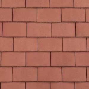 REDLAND Plain Roofing Tile, 34 Terracotta, Smooth Finish, Concrete