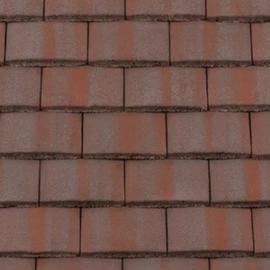 REDLAND Plain Roofing Tile, 52 Breckland Brown, Smooth Finish, Concrete
