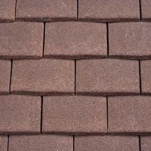 REDLAND Plain Tile Ornamental, 18 Hedgerow Brown (Granular), Sanded / Granular, Concrete
