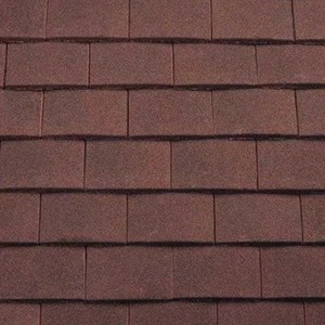 REDLAND Plain Tile Ornamental, 27 Natural Red (Sanded), Sanded / Granular, Concrete