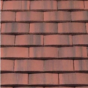 REDLAND Plain Tile Ornamental, 39 Farmhouse Red, Smooth Finish, Concrete