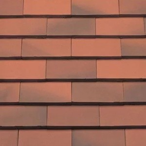 REDLAND ROOFING TILE Rosemary Classic Ornamental, 81 Light Mixed Brindle, Smooth Finish, Clay