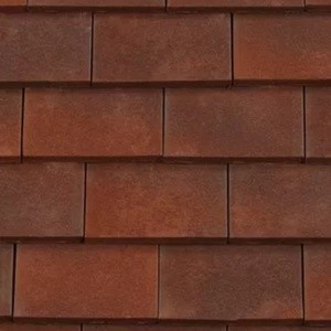 REDLAND ROOFING TILE Rosemary Classic Ornamental, 83 Heather Brindle (Sanded), Sanded / Granular, Clay