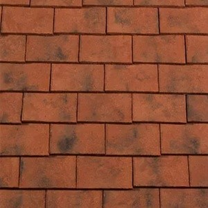 REDLAND ROOFING TILE Rosemary Clay Craftsman, 84 Hawkhurst (Sanded), Sanded / Granular, Clay