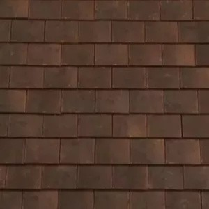 REDLAND ROOFING TILE Rosemary Craftsman Ornamental, 98 Victorian, Sanded / Granular, Clay