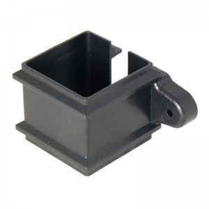 FLOPLAST Guttering 65mm Square Cast Iron Style - Pipe Clips