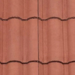 REDLAND ROOFING TILE Regent, 34 Terracotta, Smooth Finish, Concrete