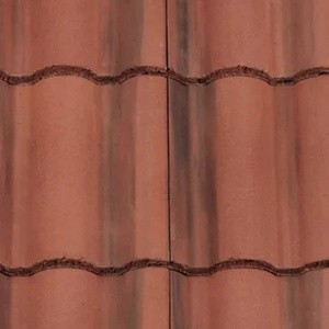REDLAND ROOFING TILE Regent, 39 Farmhouse Red, Smooth Finish, Concrete
