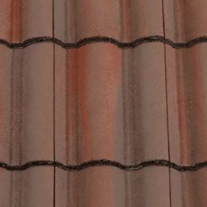 REDLAND ROOFING TILE Regent, 52 Breckland Brown, Smooth Finish, Concrete