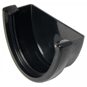 FLOPLAST Guttering 115mm Hi Cap - Stopends
