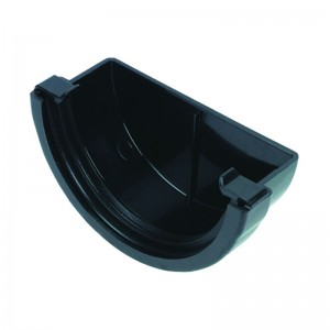 FLOPLAST Guttering 76mm Miniflo - Stopends