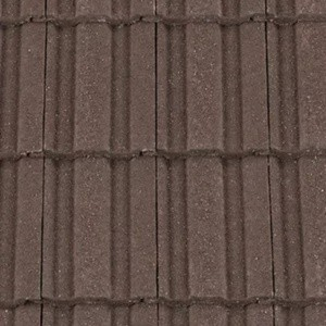 REDLAND ROOFING TILE REDLAND ROOFING TILE 49, 02 Brown (Granular), Sanded / Granular, Concrete