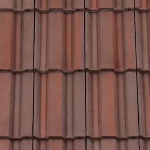 REDLAND ROOFING TILE REDLAND ROOFING TILE 49, 52 Breckland Brown, Smooth Finish, Concrete