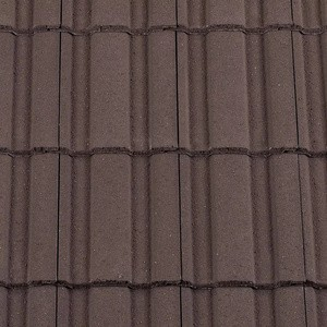 REDLAND ROOFING TILE Renown, 02 Brown (Granular), Sanded / Granular, Concrete