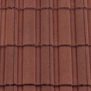 REDLAND ROOFING TILE Renown, 03 Antique Red (Granular), Sanded / Granular, Concrete