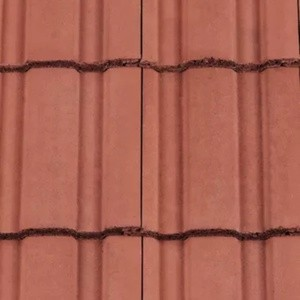 REDLAND ROOFING TILE Renown, 34 Terracotta, Smooth Finish, Concrete