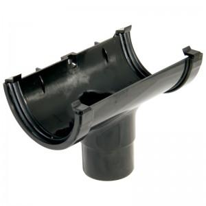 FLOPLAST Guttering 76mm Miniflo - Running Outlets