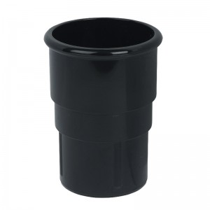 FLOPLAST Guttering 50mm Round - Pipe Sockets