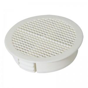 FLOPLAST Disc Soffit Ventilator - White