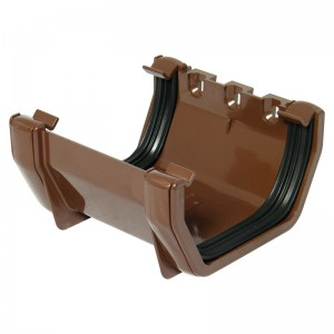 FLOPLAST Guttering 114mm Square Line - Union Brackets