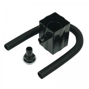 FLOPLAST Guttering 65mm Square - Rainwater Diverters
