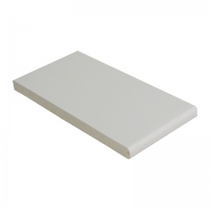FLOPLAST Multi-Purpose Board 10mm - Single Round Edge - 200mm - Various Woodgrain Foil Colours/White