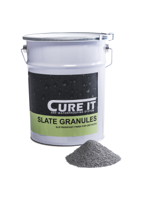 Cure It GRP Slate Granules 25Kg   CITSLATEG25