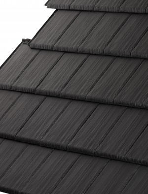 LAGAN SNOWDON CLAY Roof TILE BLACK  LAGSNCTBK