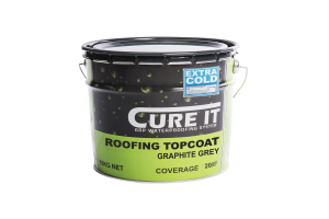 Cure It GRP Roofing Topcoat Graphite 10Kg