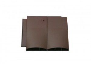 Klober Twin Plain Vent Smooth Brown   KLOTPVSBR