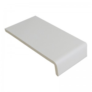 FLOPLAST 9mm Universal Board Single Leg - 100mm White