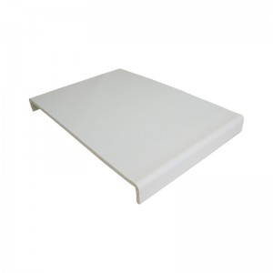 FLOPLAST Traditional 9mm Universal Board Double Leg - 450mm - Various Woodgrain Foil Colours/White