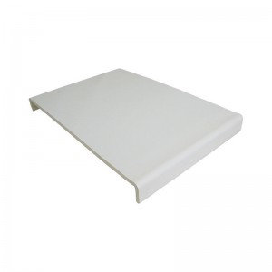 FLOPLAST Universal Box End Board - 450mm - Various Woodgrain Foil Colours/White