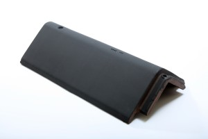 LAGAN HIP RIDGE Tile 450mm BLACK  LAGHIPR450B