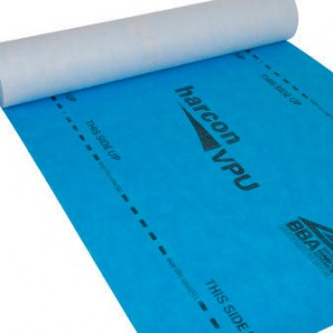 Roof Membranes and Underlay - Untaped Harcon VPU - 125g