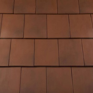 REDLAND Westminster Slate, 82 Old College Red, Smooth Finish, Clay