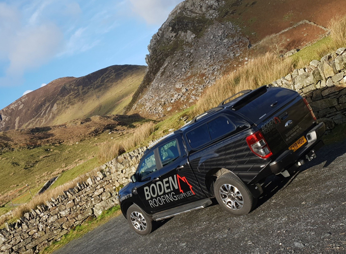 boden roofing staff truck