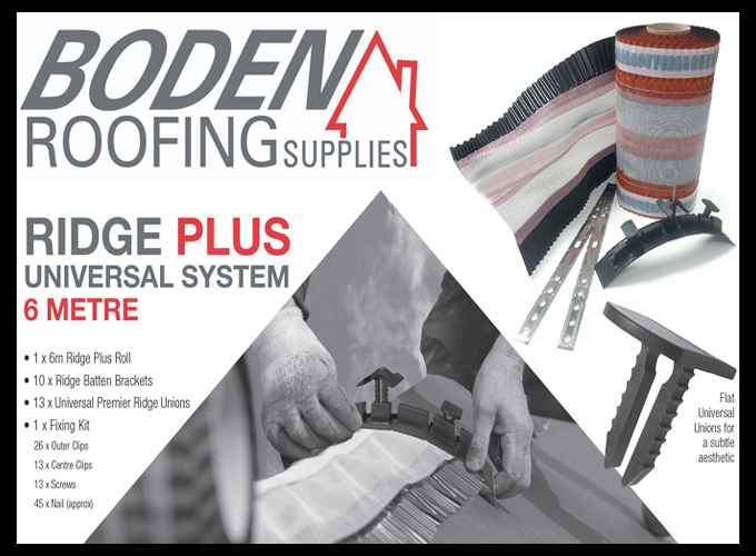 boden roofing ridge plus